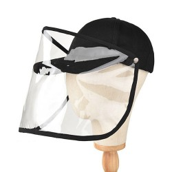 VIVIESTA SPORT - Baseball Cap With Protective Mask Against Droplets (Detachable)