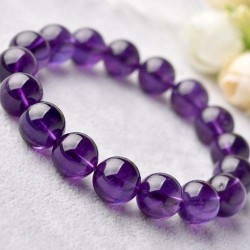 Opening Light Collection Amethyst Bracelet