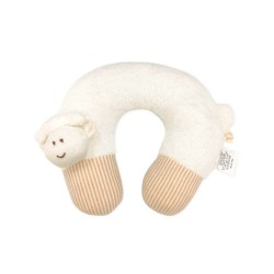 Babymio - Organic Cotton U-shaped Head and Neck Cushion/Support Pillow